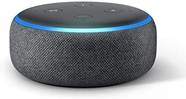 All-new Echo Dot (3rd Gen) – Smart speaker with Alexa - Charcoal Fabric