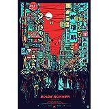 ブレードランナー 2049 Blade Runner 2049 シルク調生地 ファブリック アート キャンバス ポスター 約60×90cm ラ・ラ・ランドのライアン・ゴズリング主演