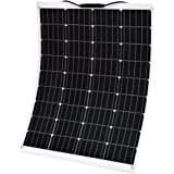 160W 200W 250W 300W Flexible Solar Panel 12V Caravan Camping Power Battery Mono Charging Kit