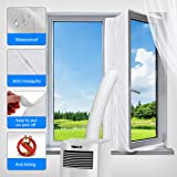 Window Seal for Portable Air Conditioner and Tumble Dryer,Window Venting for Mobile Air Conditioner Exchange Hot Air stop Fro