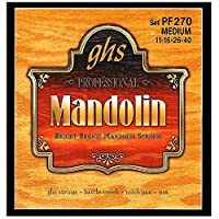 GHS Strings PF270 Bright Bronze Mandolin Strings Medium (.011-.040) [並行輸入品]