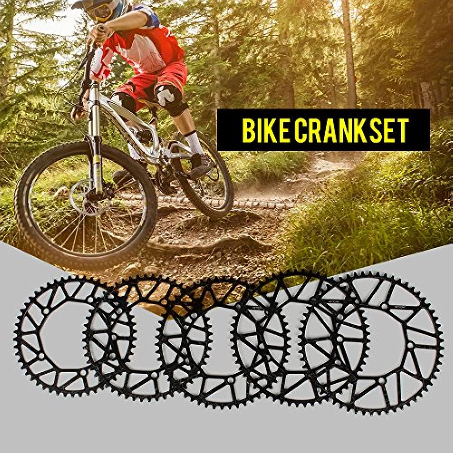 比較的バージン支配するRakuby バイクナロー ワイドチェーンリング クランクセット オーバル ラウンドシングル チェーンホイール MTBマウンテン バイク BCD 104MMチェーンリング 32T / 34T / 36T