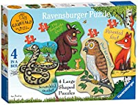 Ravensburger The Gruffalo 4-Shaped Jigsaw Puzzles
