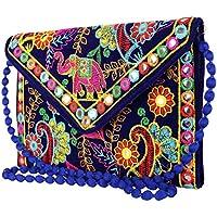 Rajasthani Jaipur Indian Handmade Potli Vintage Tribal Banjara Bohemian Clutch handbags