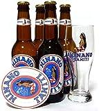 ヒナノビール 4本 グラス付きセット