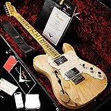 Fender Custom Shop/Custom Built 1972 Telecaster Thinline Heavy Relic Natural