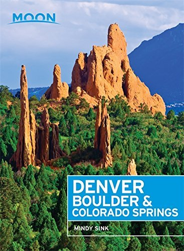 Moon Denver, Boulder & Colorado Springs (Travel Guide) (English Edition)