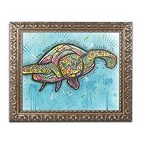 商標Fineアートali1434-g1114F Turtle by Dean Russo 16x20 ALI1434-G1620F