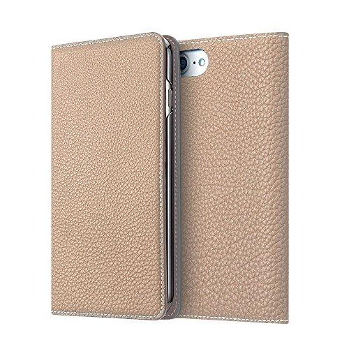 BONAVENTURA ボナベンチュラ iPhone 8/7 ケース German Leather Diary Case [iPhone 8/7 | グレージュ]