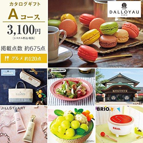 Aコース カタログギフト 千趣会オリジナル/3,100円コース...