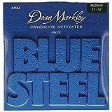 Dean Markley ディーンマークレー エレキギター弦 ブルースティール ニッケル Blue Steel Electric 2562 Medium .011-.052