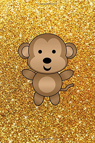 Journal: Faux yellow glitter c...