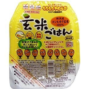 越後製菓 玄米ごはん 150g×12個
