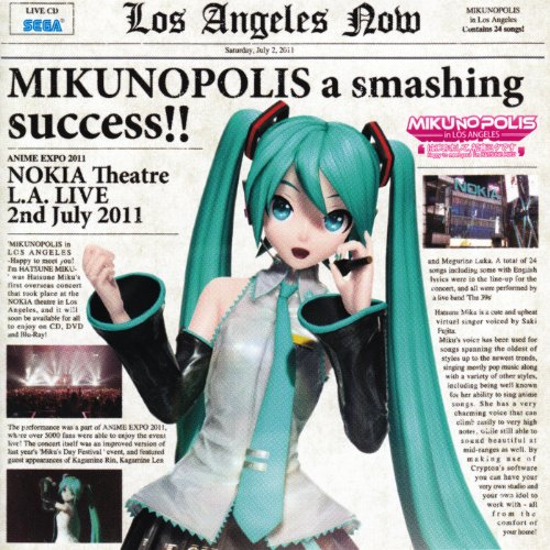 "MIKUNOPOLIS in LOS ANGELES ""はじ..."