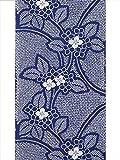 浴衣生地 反物 No.263・ブルー地・紫陽花柄