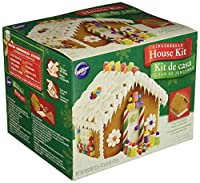 Wilton 2104-1971 Petite Gingerbread House Kit, Pre-Assembled, N/A