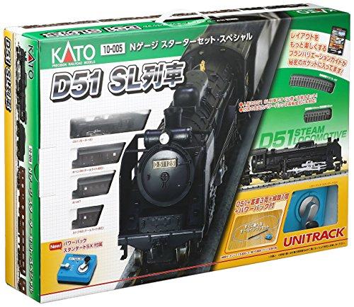 10-005 スターターセットSP D51 SL列車セット
