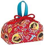 ランチ巾着 アバローのプリンセス エレナ 弁当用 巾着袋  ディズニー KB7
