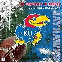 Turner Kansas Jayhawks 2016 Team Wall Calendar September 2015 - December 2016 12 x 12 (8011802) [並行輸入品]