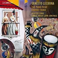 レクオーナ : ピアノ曲集成 (Ernesto Lecuona : The Piano Music / Thomas Tirino | Selected Songs / Carol Farley , John Constable) (6CD BOX) [輸入盤]