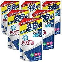 洗濯洗剤 液体 抗菌 アリエール 詰め替え 約2.6倍分(1.9kg)×6袋