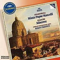 Originals: Palestrina: Missa Papae Marcelli; Allegri: Miserere by Simon Preston
