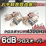 CO-GZ6 ラバー 高級パーツ採用 音質改善2WAYクロスオーバーネットワーク
