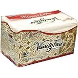Vanity Fair Dinner Napkins, Pre Folded, 40 CT (4)