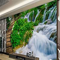Sproud 大規模なカスタム壁紙木橋水装飾画の背景の壁 Papel De Parede Infantil 不参加理由 400 Cmx 280 Cm
