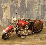 ハンドメイド ブリキ製 ヴィンテージ バイク 【レッド Lサイズ】 世田谷ベース アメリカン雑貨 アメリカ 雑貨 バイク グッズ ハーレー