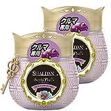 【まとめ買い】 シャルダン SHALDAN ステキプラス クルマ専用 消臭芳香剤 クルマ用 クルマ アンティークチェリーの香り 90g×2個
