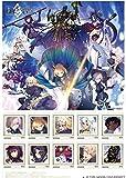 【限定】Fate/Grand Order 切手シート プレミアムホロカード イラスト台紙 3点セット コミケ90