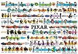 1000ピース ジグソーパズル ディズニー/ピクサーコレクション 世界最小1000ピース (29.7x42cm)