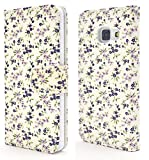 PLATA Galaxy Feel SC-04J ケース 手帳型 花 フラワー 花柄 ストラップ ポーチ カバー 【 03 】 DSC04J-32-03