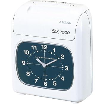 アマノ タイムカード タイムレコーダーBX2000