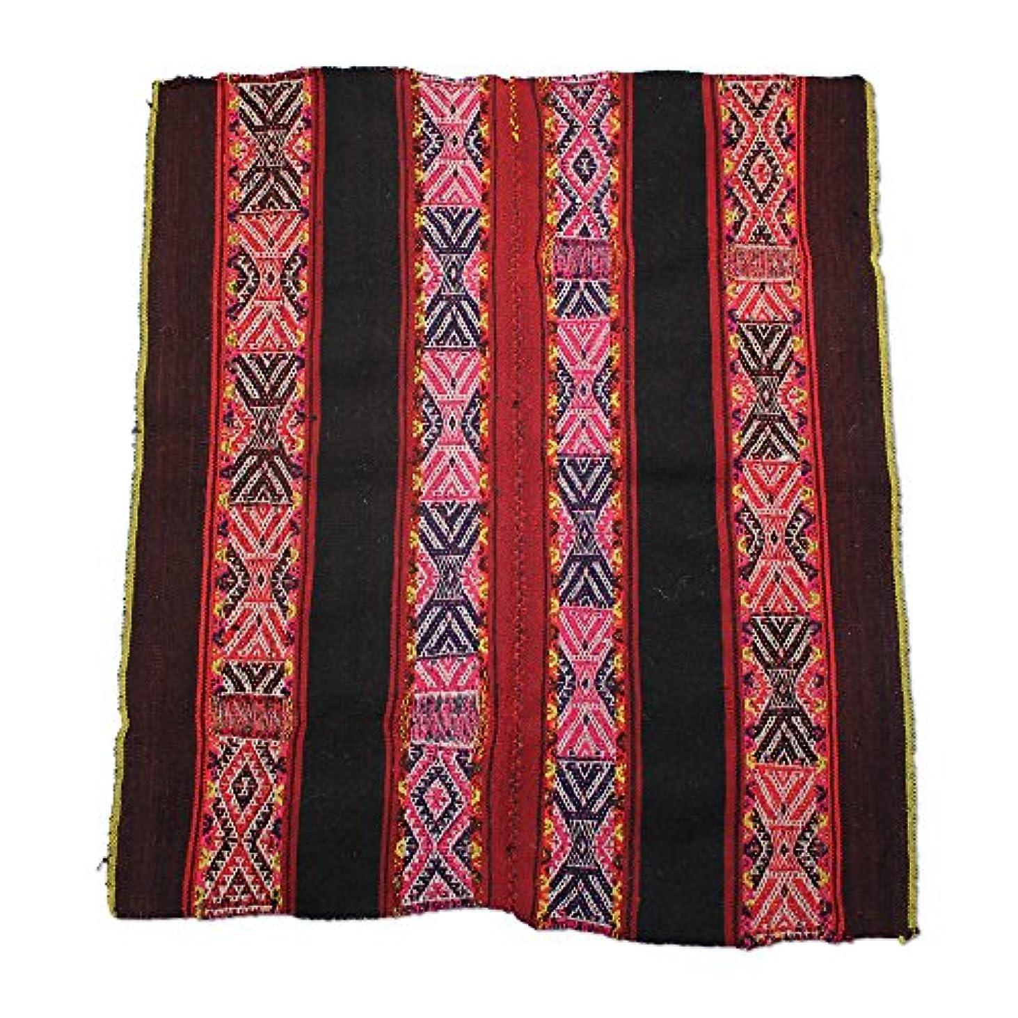 運ぶ隔離展示会Shamans Market Q'ero Andean Lliklla Mestana Cloth - Inkarri/Q'ocha