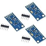 HiLetgo 3pcs GY-30 BH1750FVI デジタル光量センサモジュール