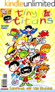 Tiny: Vol 1 - Titans - FCFF-7335- Superheroes Super Hero Team DC -  Comics Books For Kids, Boys , Girls , Fans , Adults (English Edition)