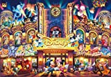 500ピース ジグソーパズル ディズニー ディズニードリームシアター ぎゅっとシリーズ 【ステンドアート】(25x36cm)