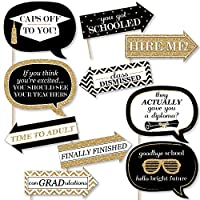 Funny Gold Tassel Worth The Hassle - Photo Booth Props Kit - 10 Piece