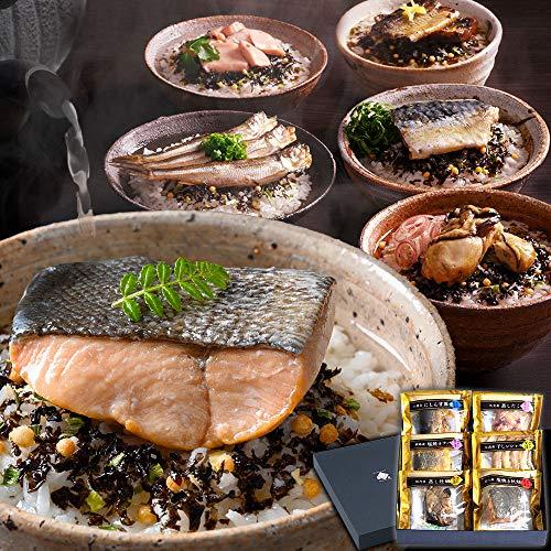 【ごろっとした肉厚具材】 北海道 高級 海鮮 お茶漬け [6種セット] ギフト 内祝い 贈答 お歳暮