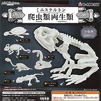 ミニスケルトン 爬虫類両生類 全6種セット リーメント ガチャポン