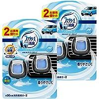 【まとめ買い】 ファブリーズ 芳香剤 車用 イージークリップ スカイブリーズ 2ml×4個
