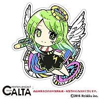 CALTA-ステッカー-cyber@ngel (1.Sサイズ)