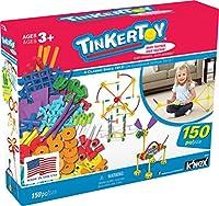 Tinkertoy–Essentials値Set–150Pieces–Ages 3+ Preschool教育玩具