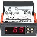 KKmoon 10A 220V ミニ デジタルエア 湿度制御コントローラ レンジ測定範囲 1%~99% センサー 付き【並行輸入品】