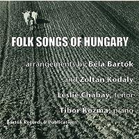 『コダーイとバルトークによって採集・編曲されたハンガリーの民謡集』 チャイバイ、コズマ