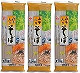 【お試し乾麺!ワンコイン】ヒガシフーズ 山芋入りそば220g×3袋