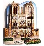 ノートルダム大聖堂教会パリ フランス ヨーロッパ 3 D ガレージ グッズ冷蔵庫マグネット