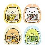 Lucyzkd 4 Pack,200 Pieces Super Cute Cartoon Animals Transparent PVC Stickers for Diary Calendar Albums Decoration Scrapbook